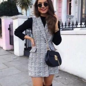 Zara Black & White Romper